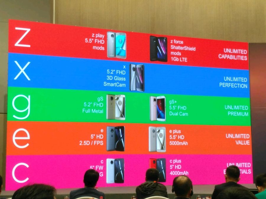 Moto C und Moto C Plus: Lenovo stellt günstige Einsteiger-Smartphones vor