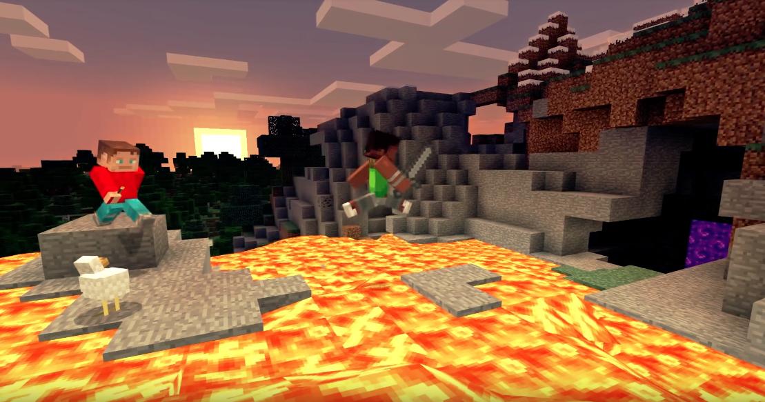Nintendo Und Microsoft Bewerben Crossplay In Minecraft - Minecraft kostenlos spielen nicht downloaden