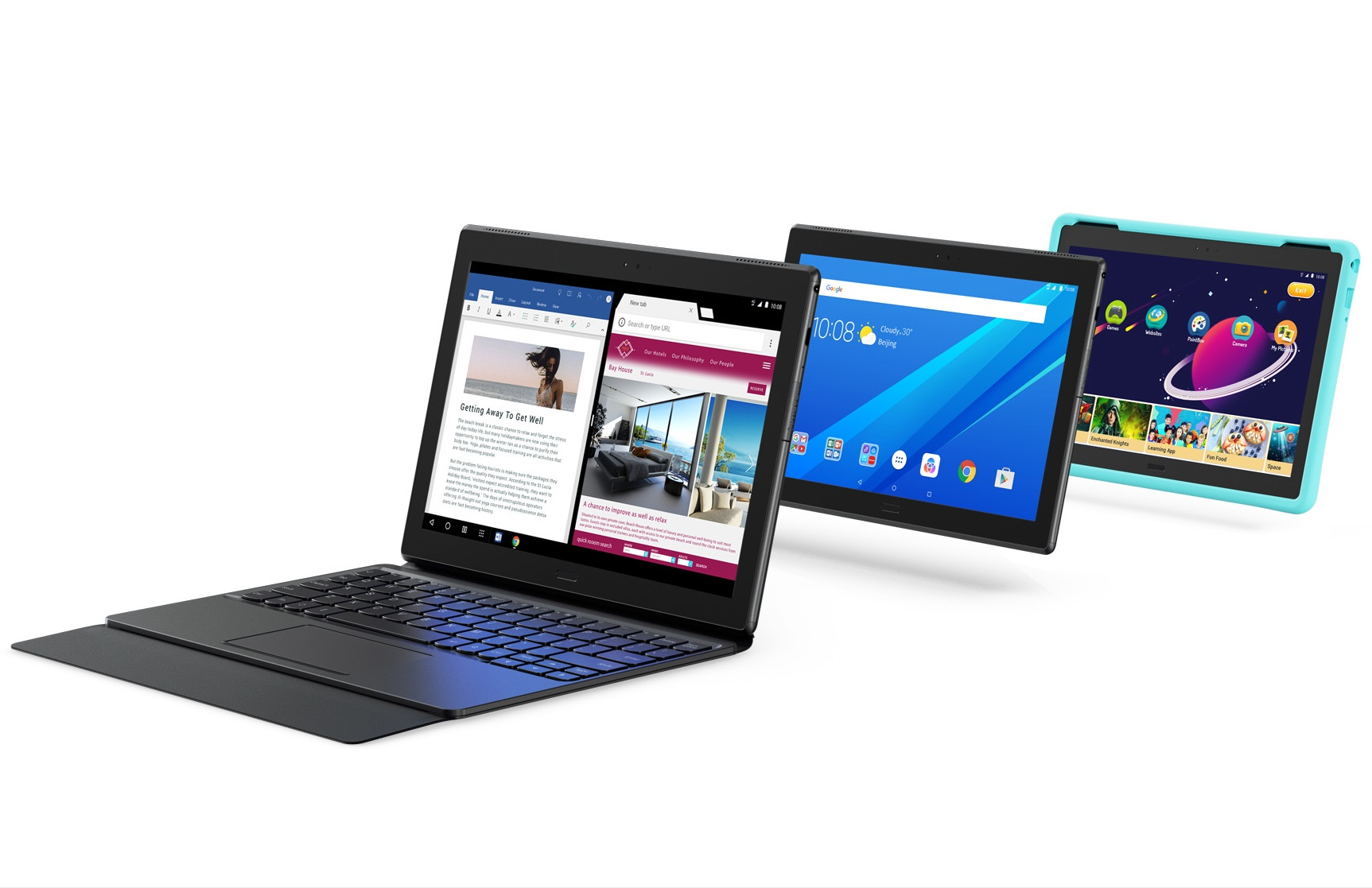 lenovo tab 4 8 und 10 zoll android tablets f r die. Black Bedroom Furniture Sets. Home Design Ideas