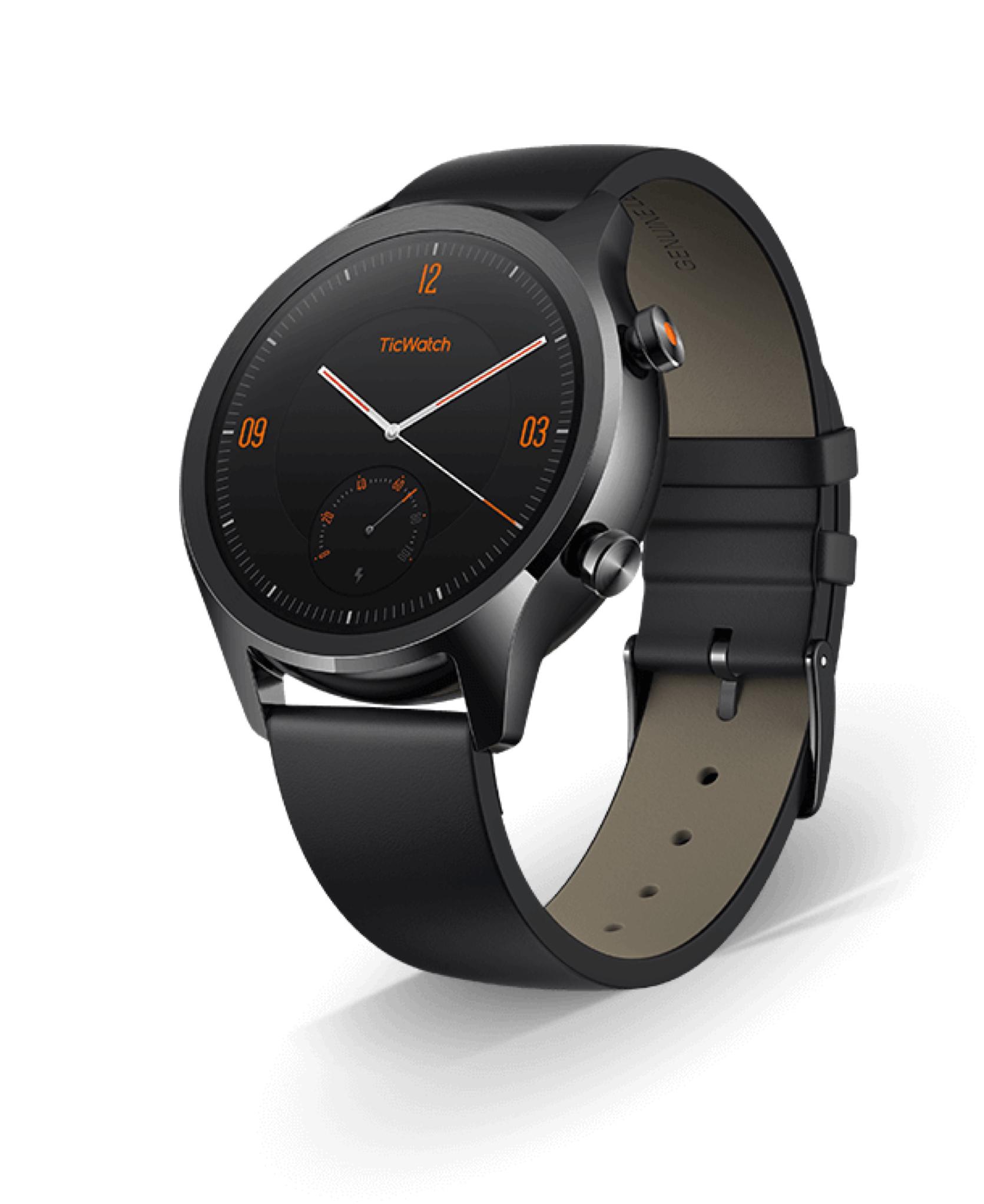 mobvoi ticwatch c2 g nstige smartwatch mit stahlgeh use news. Black Bedroom Furniture Sets. Home Design Ideas