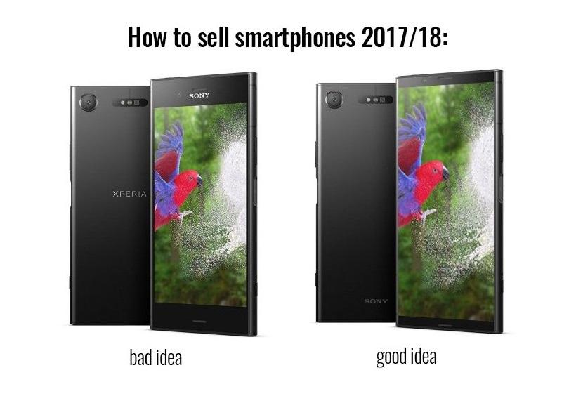 Endlich Sony Xperia Smartphones 2018 Mit Frischem Design