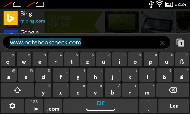 Test Nokia X Smartphone Notebookcheckcom Tests
