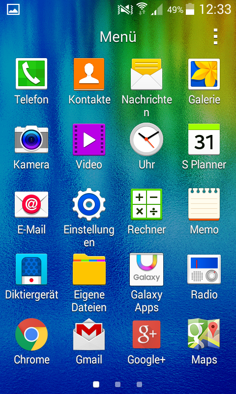 Test Samsung Galaxy J1 Smartphone
