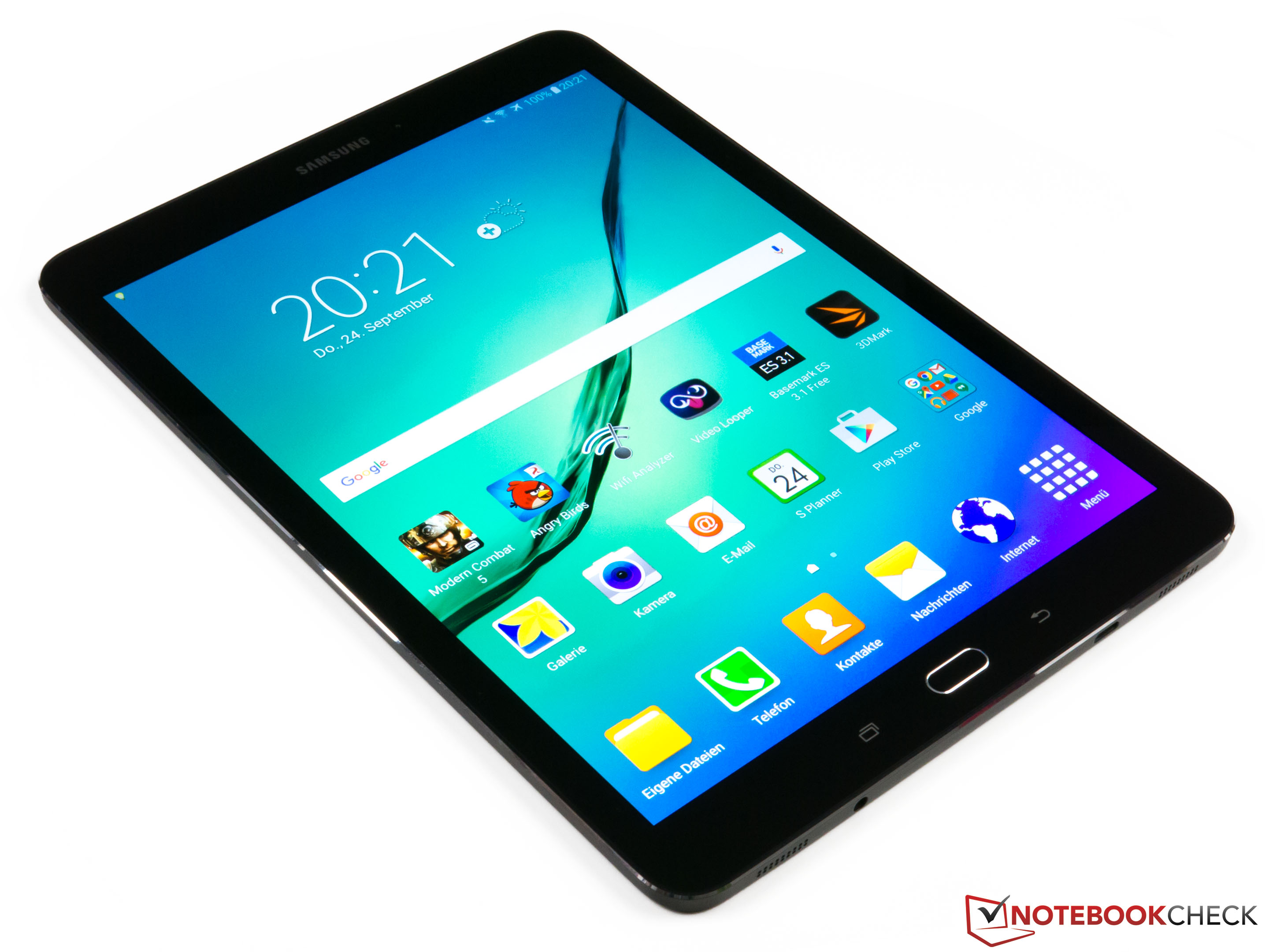 test samsung galaxy tab s2 9 7 lte tablet notebookcheck. Black Bedroom Furniture Sets. Home Design Ideas