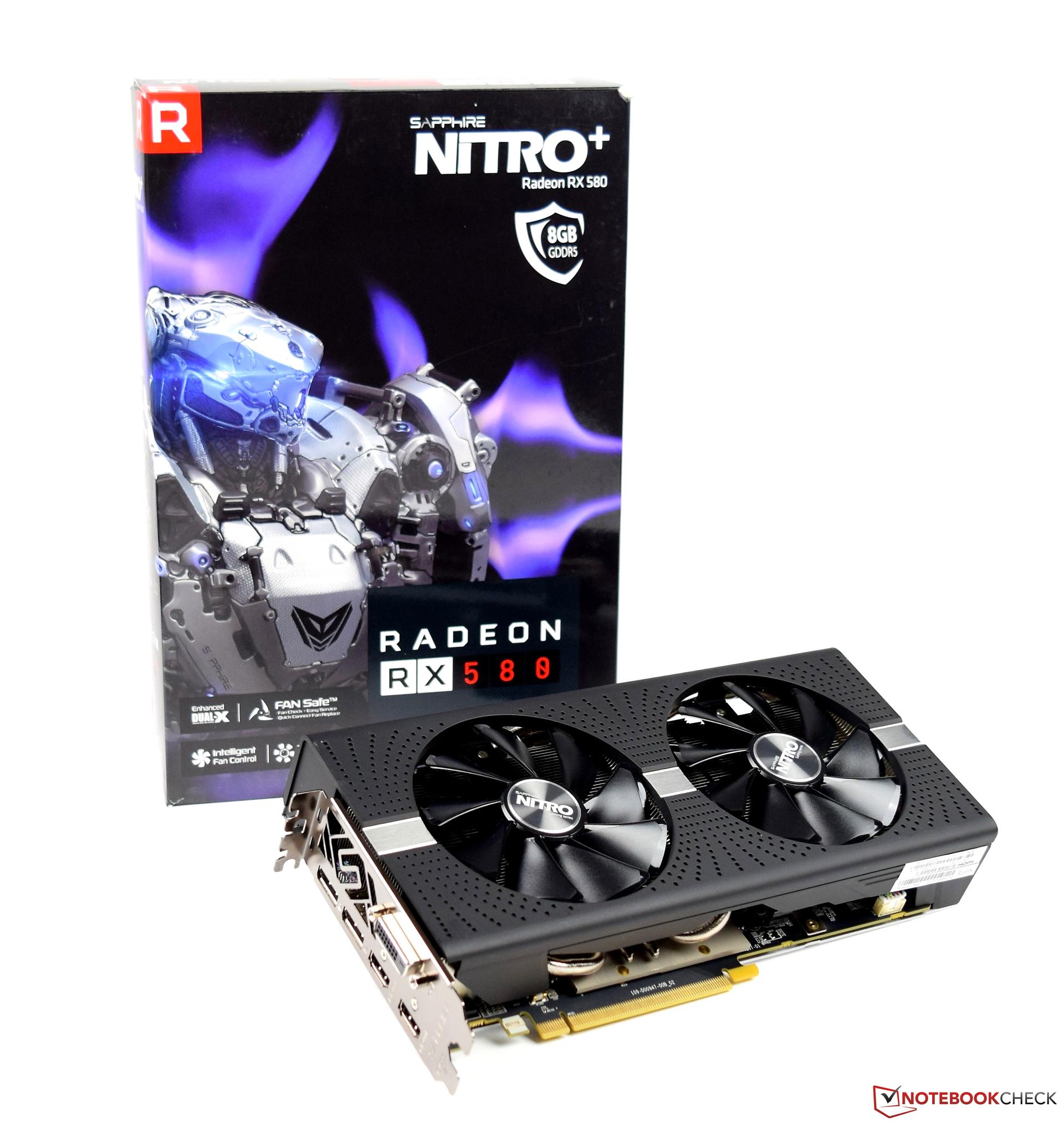 Sapphire NITRO Radeon RX 580 8GD5 Graphics Card