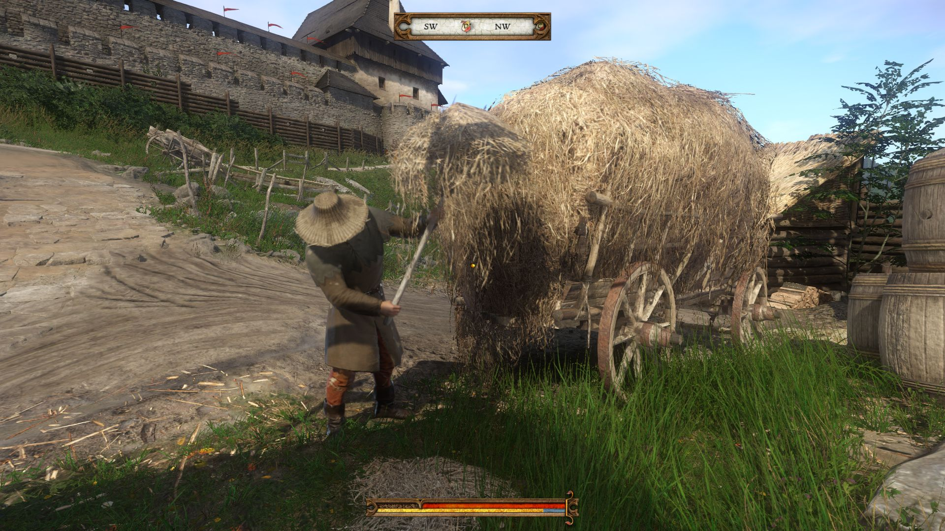kingdom come deliverance how to pickpocket