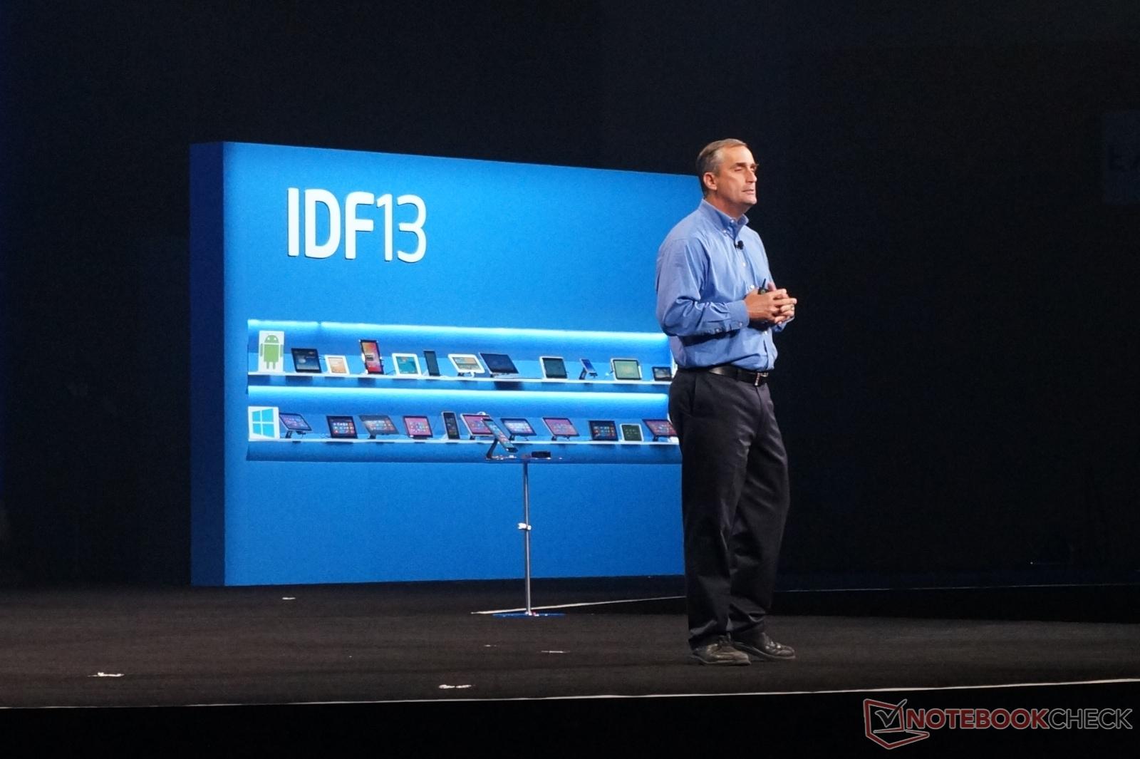 """IDF 2013: Sparsame """"Quark""""-Prozessoren für Wearables und ..."""