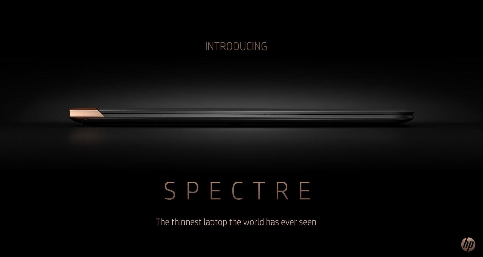 Hp Spectre 13 Flagship Notebook Und Neues Logo