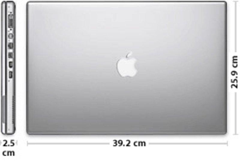 apple powerbook g4 17 zoll externe tests. Black Bedroom Furniture Sets. Home Design Ideas