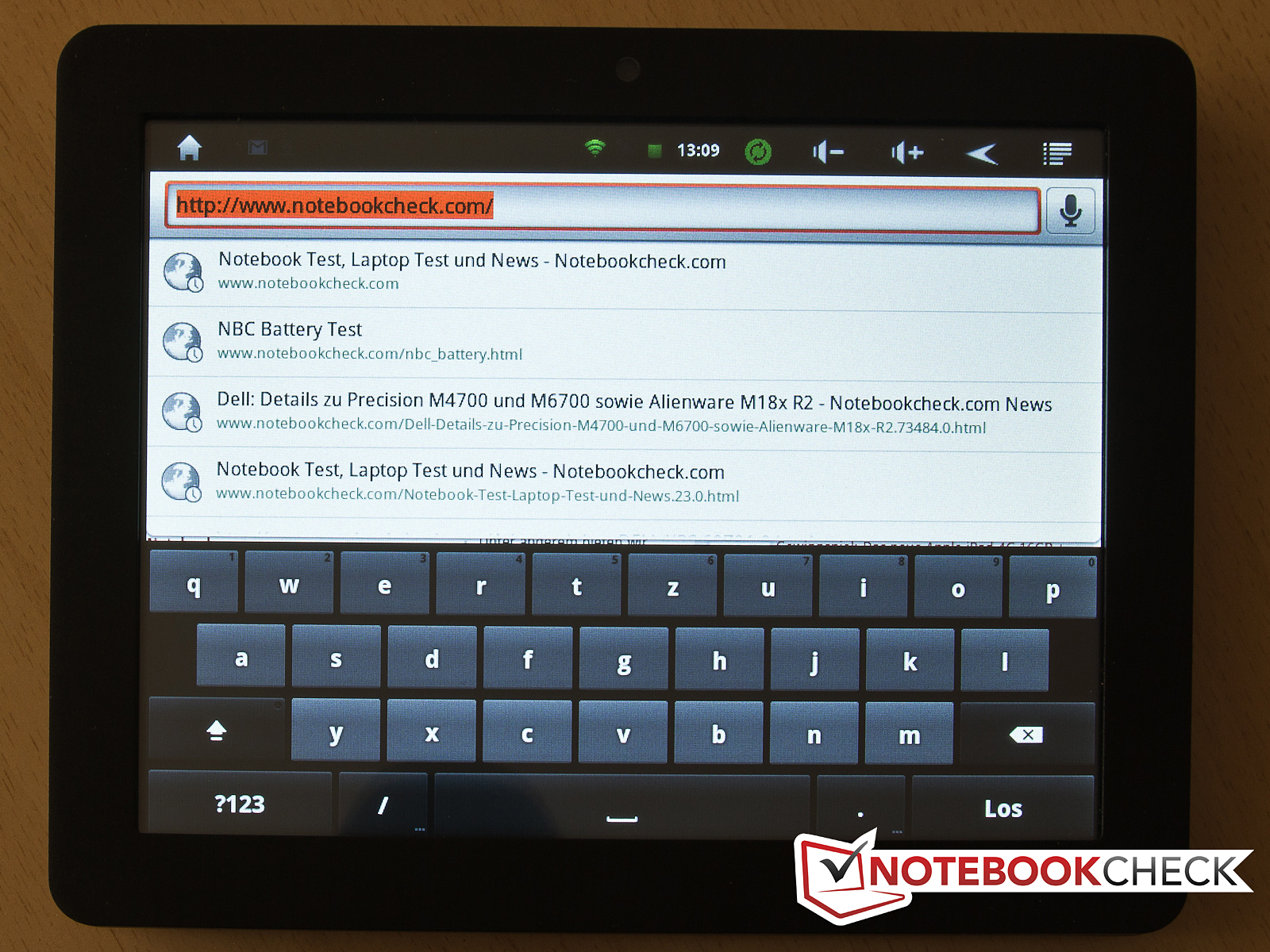 test odys loox tablet mid tests. Black Bedroom Furniture Sets. Home Design Ideas