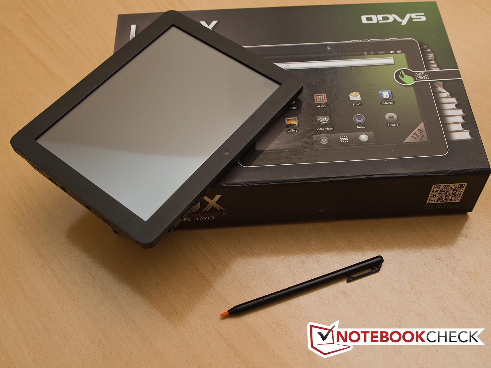 Test Odys Loox Tablet Mid Notebookcheck Com Tests