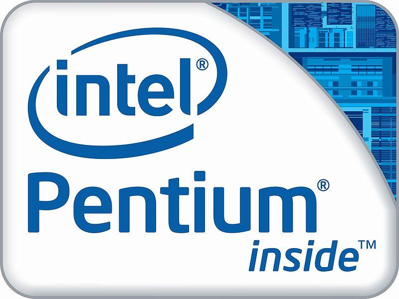 Intel Pentium Dual Core Inside Intel Pentium Dual-core Logo
