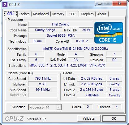 Acer aspire 4830tg bm cpu cpu z 1
