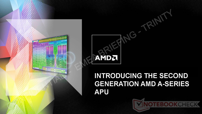 AMD: Zweite Generation der AMD A-Serie APUs Trinity vorgestellt ...