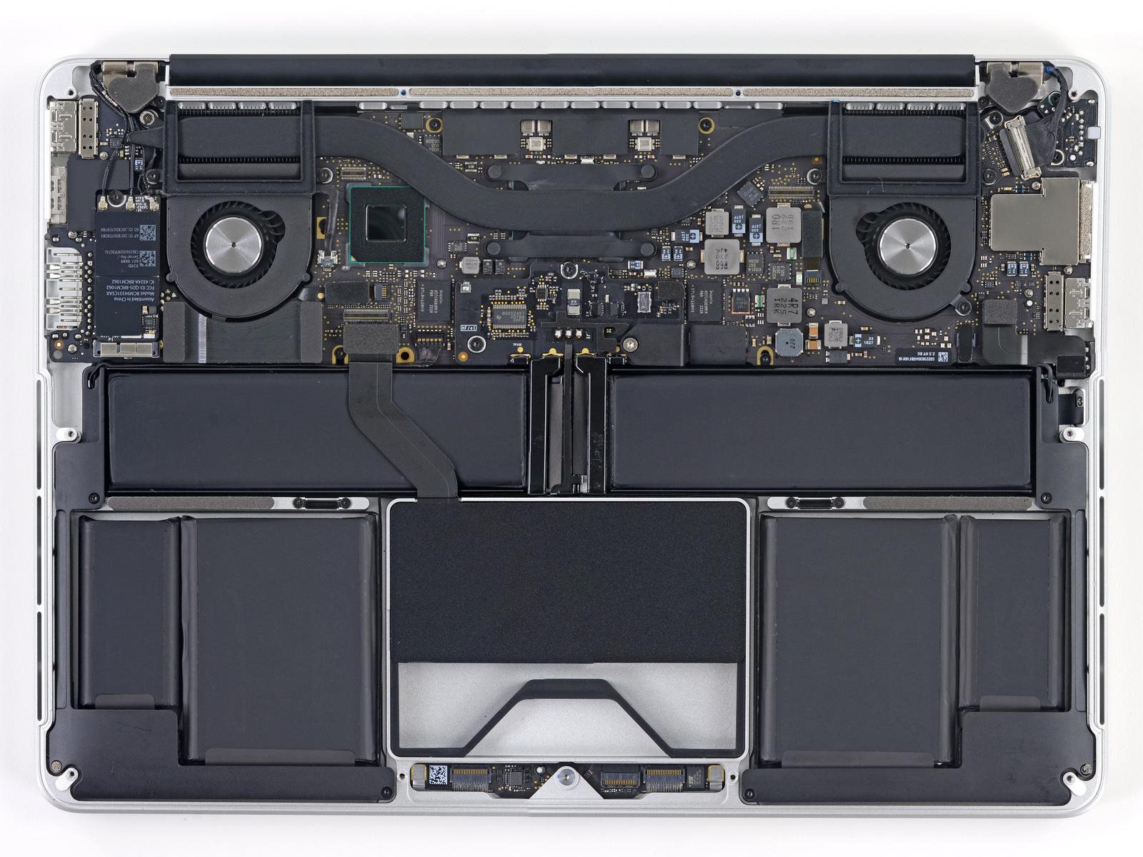 Ifixit Teardown Macbook Pro 13 Zoll Mit Quot Retina Quot Display