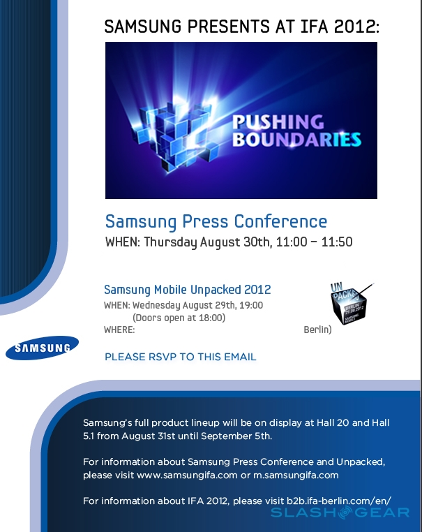 Samsung: Galaxy-Note-Event Samsung Mobile Unpacked am 29 ...