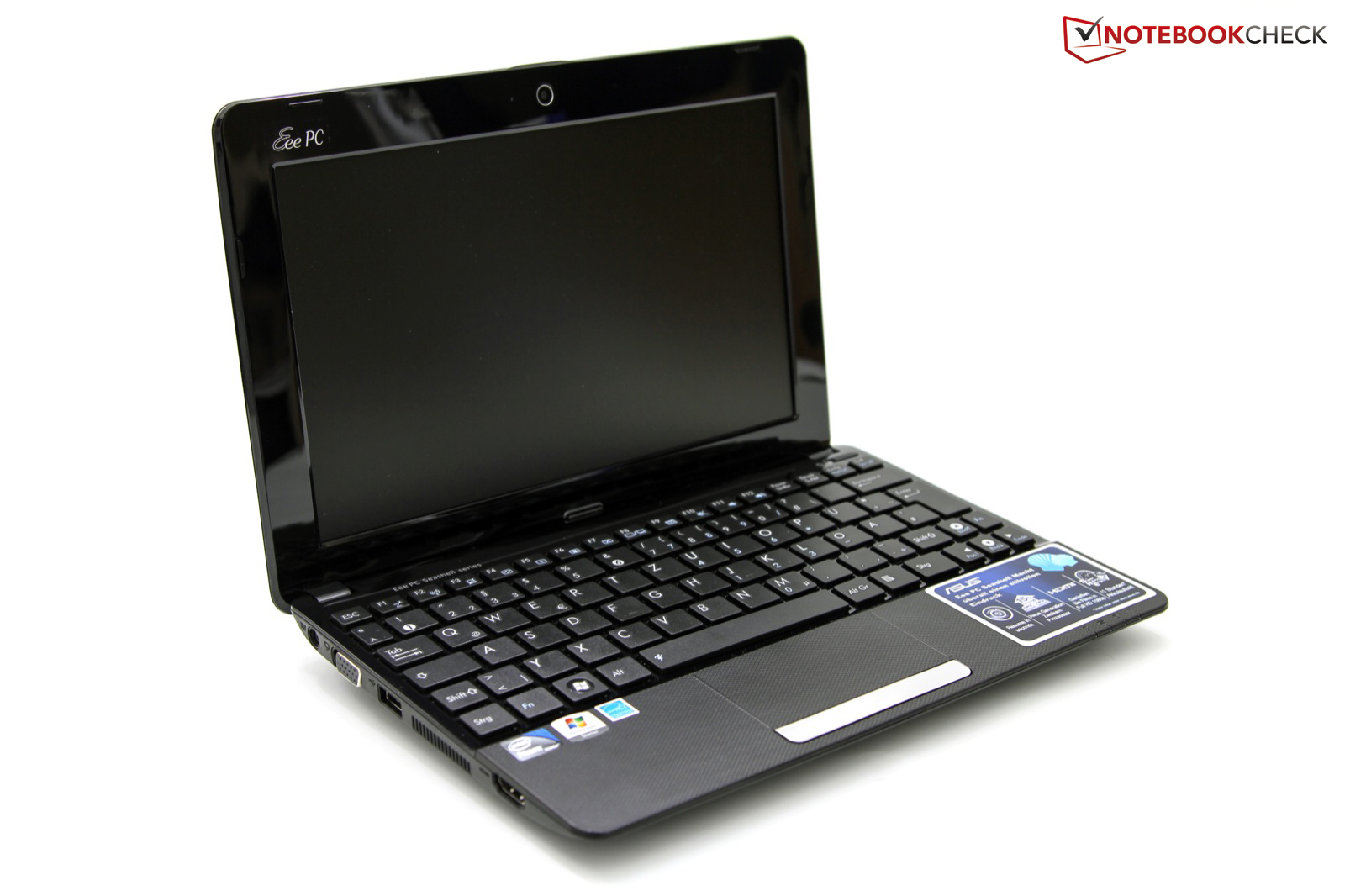 Test Asus Eee Pc 1011cx Netbook Notebookcheck Com Tests