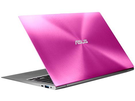 Asus: Ultrabook Zenbook UX31E nun auch in Rosa und Pink