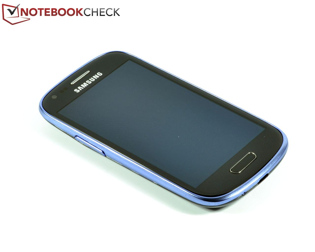 Smartphone Samsung Galaxy S4 Mini Gt I9192: Test Samsung S3 Mini GT-I8190 Smartphone