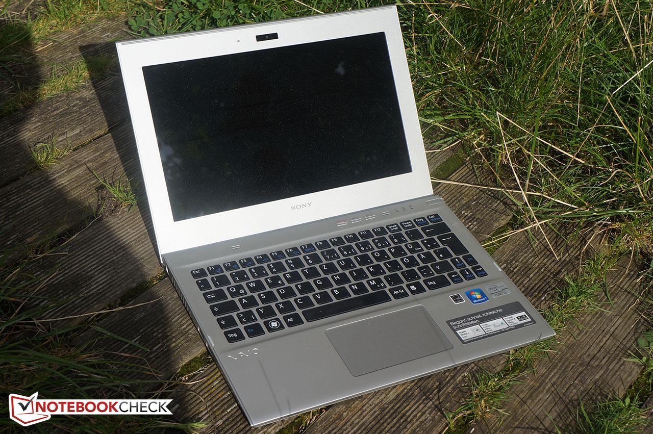 Test Sony Vaio SVT-1111M1E/S Ultrabook