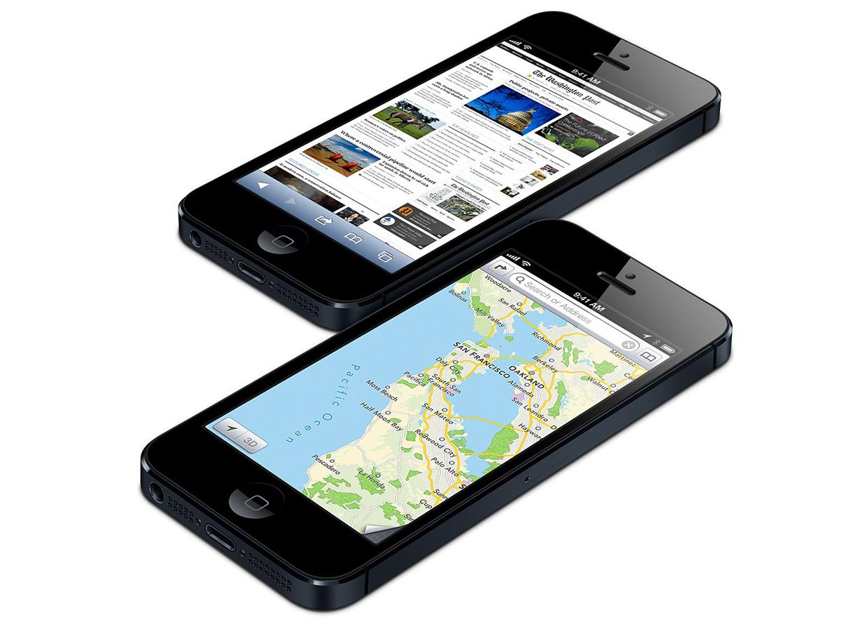 apple iphone 5 smartphone mit 4 zoll bildschirm apple a6 soc ios 6 news. Black Bedroom Furniture Sets. Home Design Ideas