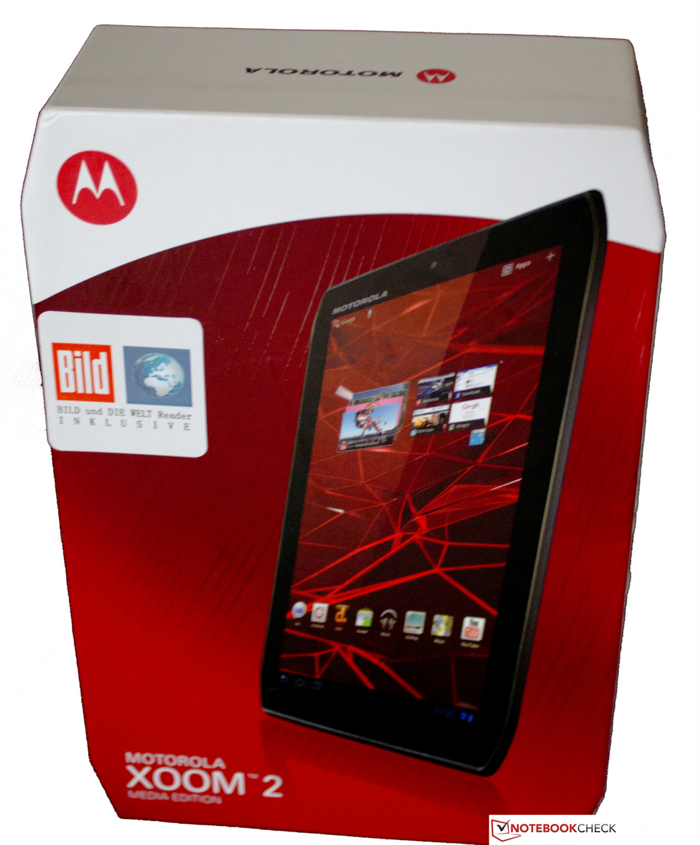Test Motorola Xoom 2 MZ607 Tablet/MID
