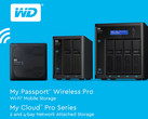 WD: My Passport Wireless Pro und My Cloud Pro NAS