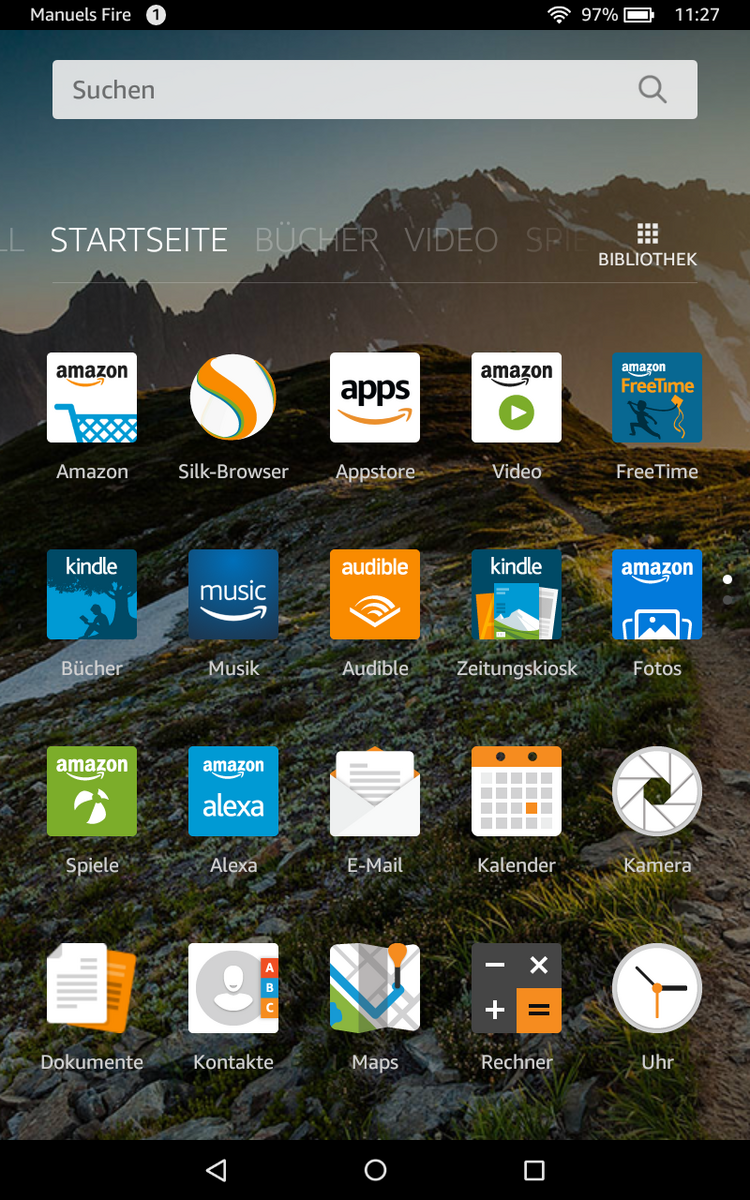 Test Amazon Fire Hd 8 2017 Tablet Notebookcheckcom Tests