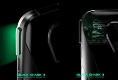 Mechanische Shoulder-Buttons des Xiaomi Black Shark 3 Pr, sollen das mobile Gaming noch effizienter machen.