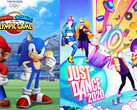 game Sales Awards im Januar: Mario & Sonic in Tokyo 2020 und Just Dance 2020.