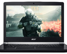 Test Acer Aspire V17 Nitro BE VN7-793G (7300HQ, GTX 1050 Ti, Full-HD) Laptop