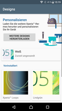 Sony Xperia L1 Software