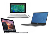 Im Vergleich: Microsoft Surface Book vs. Dell XPS 13 InfinityEdge vs. Apple MacBook Pro Retina 13