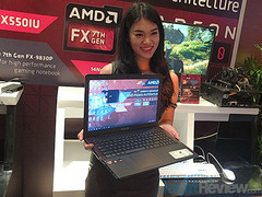"Asus X550IU: 15,6""-Notebook mit AMD Bristol Ridge FX-9830P im Hands-on"