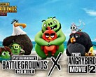 PUBG Mobile: Update 0.16.0 bringt Angry Birds, RageGear und Crossover-Items.