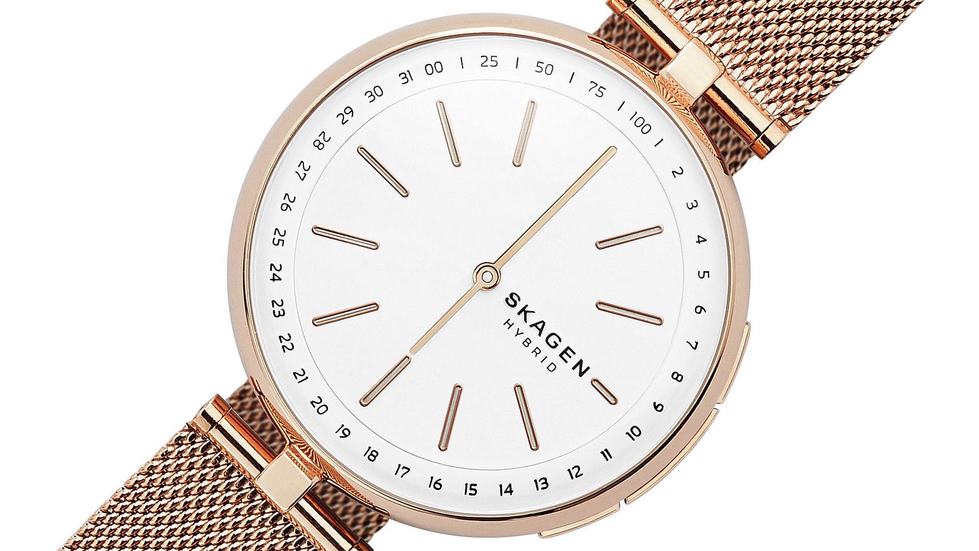 Skagen Signatur T-Bar: Modische Damen-Smartwatch ab 200 Euro ...