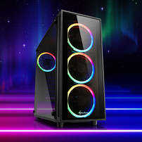 Sharkoon TG4 ATX Midi Tower RGB