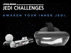 Lenovo stellt das AR-Mobile-Game Star Wars: Jedi Challenges vor