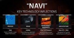Navi Key Features (Quelle: AMD)