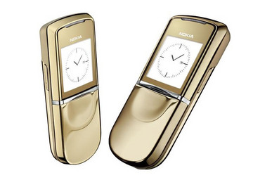 Nokia 8810 Sirocco Edition Gold