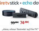 Im Bundle 25 Euro sparen: Amazon Fire TV Stick und Echo Dot.