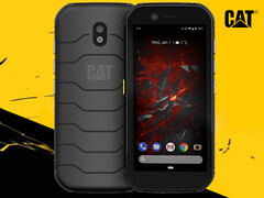 Cat S32: Robustes Outdoorhandy mit 5,5 Zoll HD+-Display.