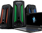 Aldi: Medion Gaming-Notebook Erazer P15603 und PC X67128 ab 30. Juli.