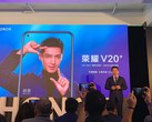 Honor View 20 und V20 mit 48-MP-Kamera und In-Display-Cam.
