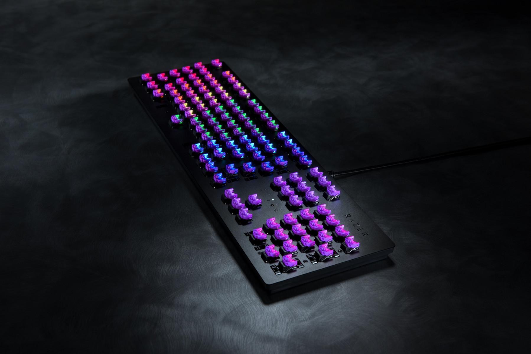 Razer Huntsman: Gaming-Tastaturen mit Opto-Mechanischen