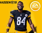 Madden NFL 19: Star-Receiver Antonio Brown ziert das Cover.
