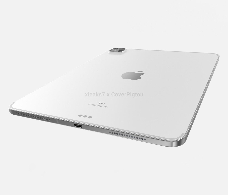 Apple iPad Pro 2021: 360 Grad Rendervideo und Bilder der ...