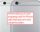 Apple: iOS 9.2.1 behebt Error 53 bei iPhone und iPad