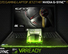 Evga SC17: Gaming-Notebook mit 4K/UHD, GeForce GTX 1070 und G-Sync