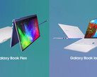 Samsung Galaxy Book Flex und Galaxy Book Ion: Infografik zu den Spezifikationen.